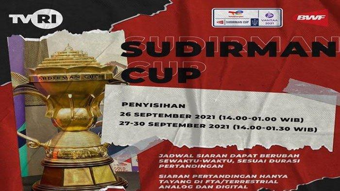 Jadwal Badminton Sudirman Cup Hari Ini dan Besok, Indonesia vs Denmark Rebutkan Juara Grup C