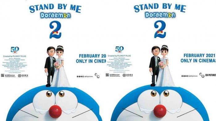 Doraemon Stand By Me 2 Tayang 19 Februari 2021, Ini Harga Tiket, Jadwal dan Pesan Tiket CGV dan XXI
