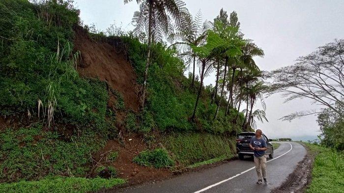 Jalan Menuju Objek Wisata Gunung Dempo Rawan Longsor Tribun Sumsel