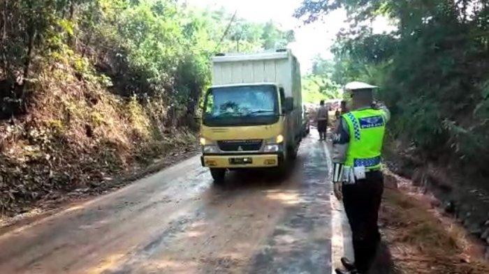 Akses Jalan Lahat-Pagaralam Melalui Pulau Pinang Sudah Bisa Dilintasi Kendaraan