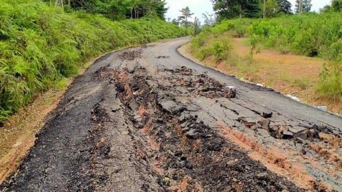 Jalan Desa yang Dibangun dari Dana Bantuan Gubernur Sumsel Rusak, PUPR Muratara Buka Suara