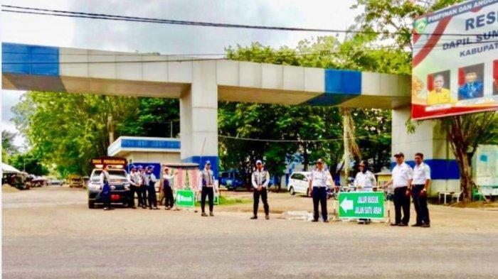 Hindari Kemacetan, Dishub Terapkan Jalur Satu Arah di Jalan Lingkar Randik Sekayu