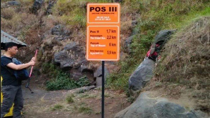 BREAKING NEWS: Pendaki Asal Sumsel Terjebak di Gunung Rinjani, Pasca Gempa 4,2 Guncang Lombok