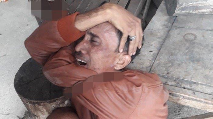 Diancam Bakal Dibakar Massa, Penjambret di Way Hitam Palembang Menangis