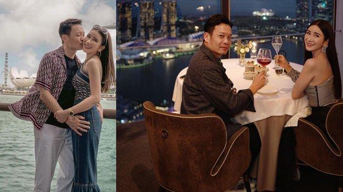 Jamie Chua bersama pacar barunya yang seorang pengacara kondang