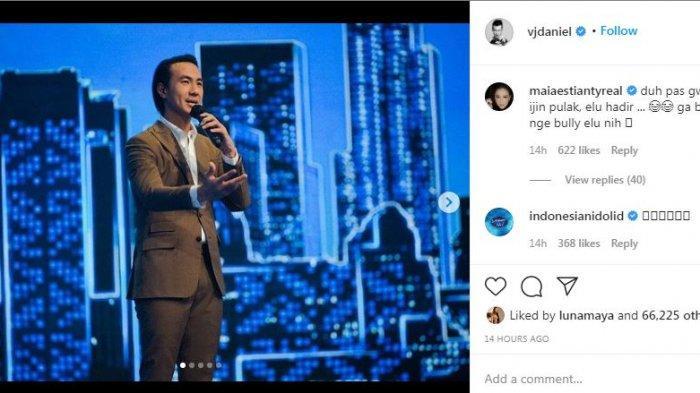 Daniel Mananta Resmi Pamit dari Indonesian Idol, Banjir Reaksi Para Artis: Legend!