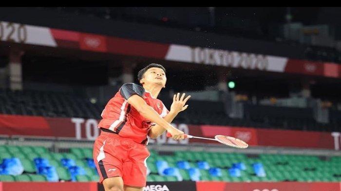 Head to Head Ginting vs Antonsen, Bertemu di Perempat Final Tunggal Putra Bulutangkis Olimpiade 2020