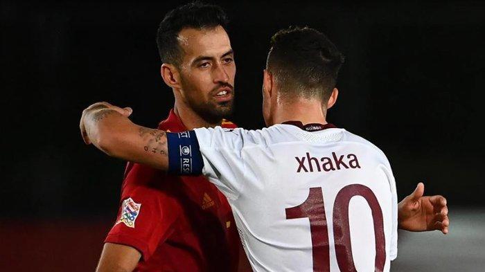 Prediksi Perempat Final Swiss vs Spanyol, Granit Xhaka Ungkap Timnya Perlu Semangat Juang Tinggi