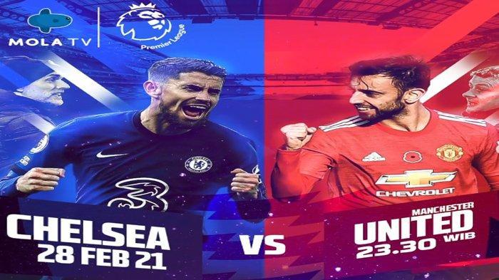 Jadwal dan Prediksi Susunan Pemain Chelsea Vs Man United : Thiago Silva Dipastikan Absen