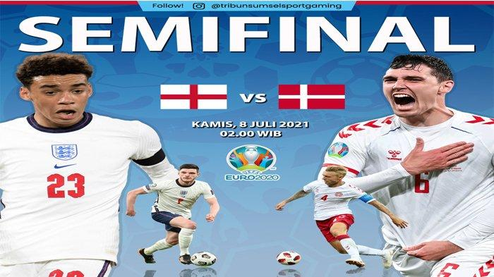 Rekor Pertemuan Inggris Vs Denmark, Gareth Southgate Ingin Ukir Sejarah Baru di Euro 2020