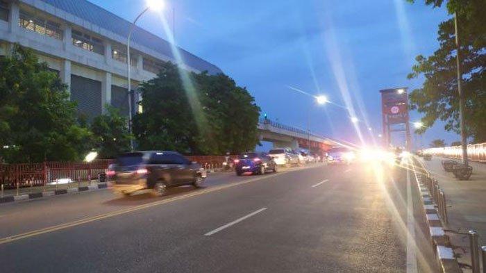 Jembatan Ampera Palembang Mulai Ditutup Malam Ini Sampai Dini Hari dan Besok Malam, Ini Alasannya
