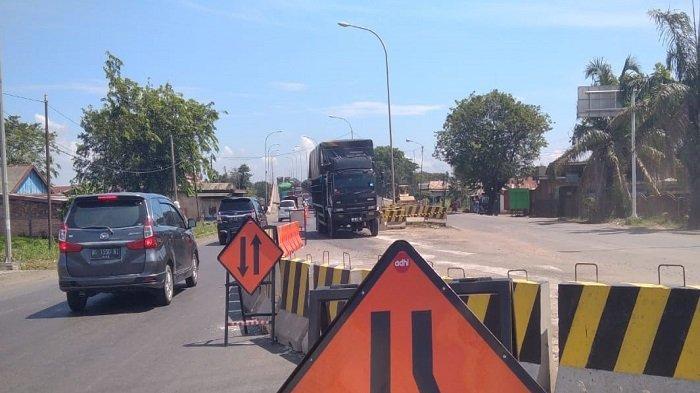 Perbaikan Jembatan Keramasan Bagian Bawah Sudah Selesai, Tinggal Proses Bangunan Atas