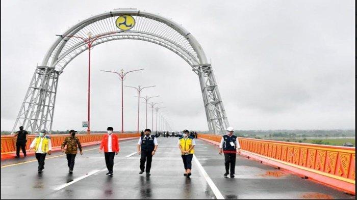 Dibangun 2016, Pembangunan Jembatan Ogan Selesai Juli 2020, Berikut Umur Rencana Pakai Jembatan