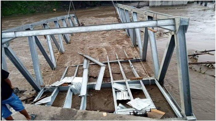 Jembatan Poton di Empat Lawang Ambruk Sebelum Operasional, DPR Pertanyakan Pekerjaannya