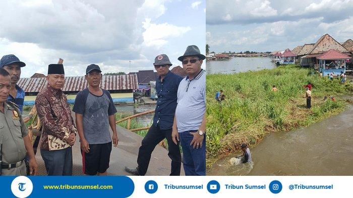 Jembatan Roboh Segera Diperbaiki, Pemkab OKI Pinjam Alat Berat Perusahaan