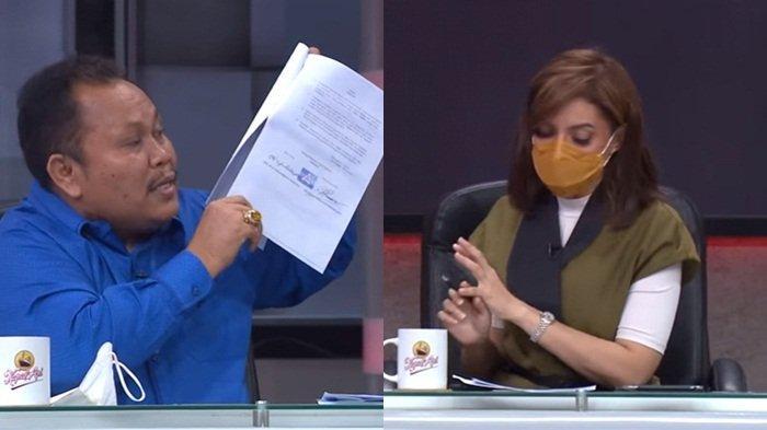 PANAS Jhoni Allen Koar-koar di <a href='https://manado.tribunnews.com/tag/mata-najwa' title='MataNajwa'>MataNajwa</a> Tadi Malam, Seret Nama Ibas Anak SBY : Tak Ada Dukungan