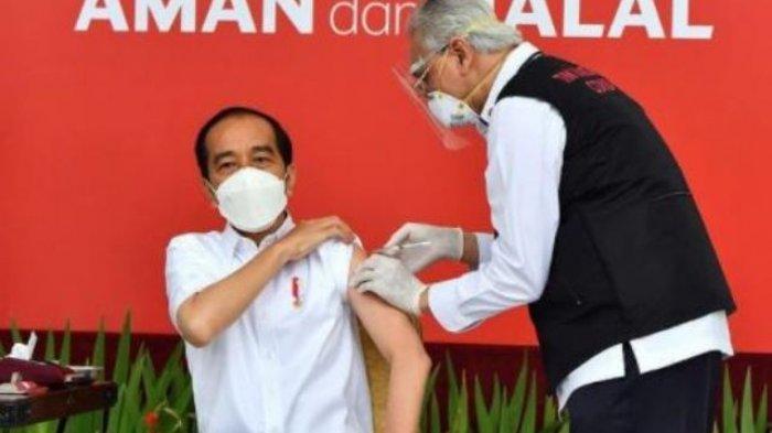 Akhirnya IDI Beri Penjelasan Usai Beredar Kabar Presiden Jokowi Gagal Menerima Vaksin Covid-19