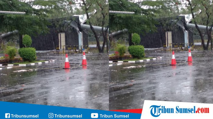 Wilayah Jakabaring Porak Poranda, Kecepatan Angin Capai 50 KM per Jam, Ini Penjelasan BMKG