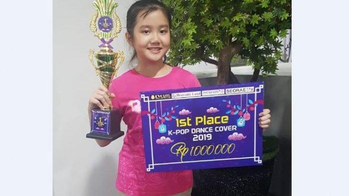 Mengenal Jesslyn Christolim, Siswi Kelas 5 SD Juara Pertama Modern Dance K-Pop di Palembang Icon