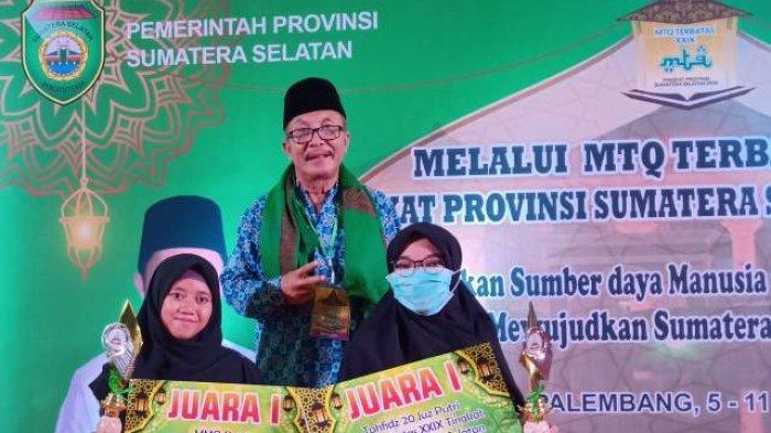 Perwakilan PALI Juara Karya Tulis MTQ Tingkat Sumsel, Tuliskan Jihad Medis Dalam Penanganan Covid-19
