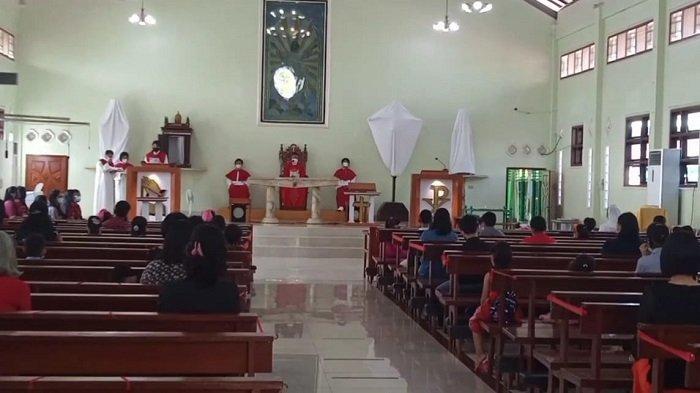 Melihat Perayaan Jumat Agung di Gereja Lubuklinggau, Dibagi Sesuai Rentang Usia
