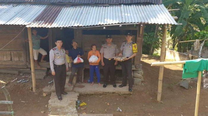 Jahidin: Terimakasih Pak Polisi, Terimakasih Mapolsek Mulak Ulu dari Giat Jumat Barokah