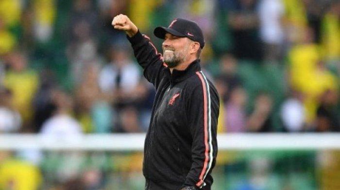 Pertandingan Jurgen Klopp Saat Laha Norwich City vs Liverpool di Liga Inggris Jadi Sorotan