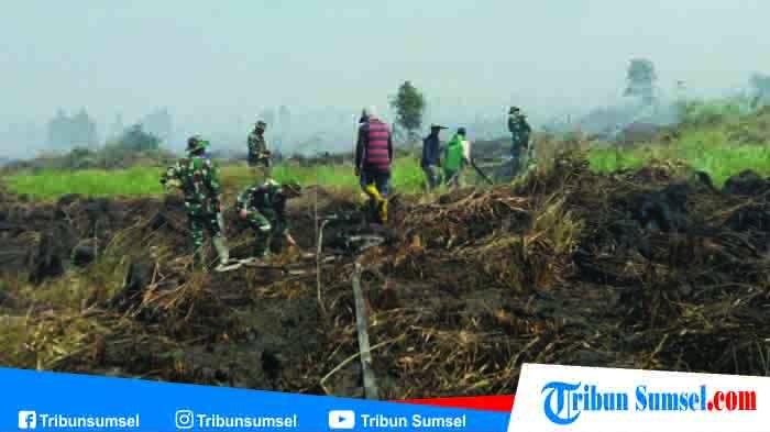 Kebakaran Hutan dan Lahan Mengancam Kabupaten OKI, Bupati Iskandar : Api Harus Padam