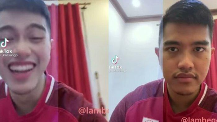 Bikin Konten Hits Penampakan Wajah Asli vs Filter di Tik Tok, Kaesang Kaget Lihat Wajahnya Menor