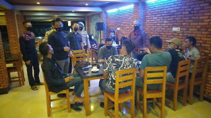 Polres Ogan Ilir Minta Kafe di Indralaya Batasi Jam Operasional, Cegah Kerumunan