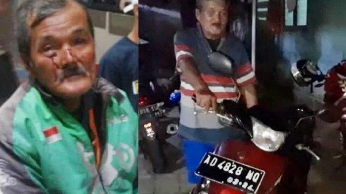 Ingat Kakek Yadi Raharjo Driver Ojol Dibegal Penumpangnya? Kini Dapat Motor Baru dari Orang Baik