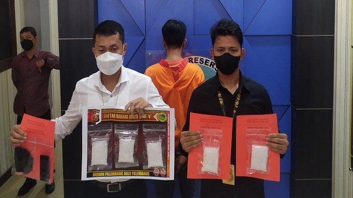 Sembunyikan Setengah Kilo Sabu, Kaki Tangan Bandar Narkoba di Palembang Diringkus