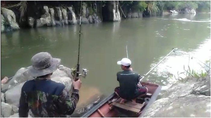 Bersenang-senang di Akhir Pekan, KAMI-MLM Salurkan Hobi Memancing, Menjelajah Sungai Perawan