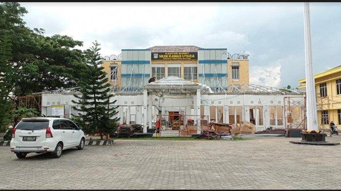 Kantor Bupati Muratara Dipercantik, Anggaran Rp 6,8 Miliar Bantuan dari Gubernur Sumsel