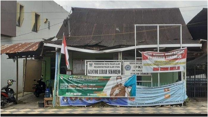 Di Tengah Kota, Begini Kondisi Kantor Lurah Sukorejo Pagaralam, Atap Nyaris Ambruk Tak Ada Toilet