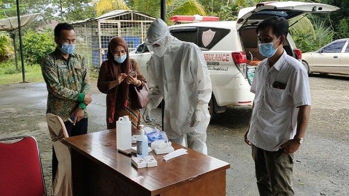 Pejabat Sekretariat DPRD PALI Terpapar Covid 19, Semua Pegawai Test Swab, 3 Orang Reaktif