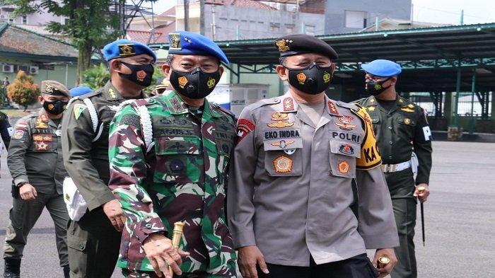 Kapolda Sumsel Hadiri Upacara Penegakan Ketertiban dan Yustisi Polisi Militer 2021