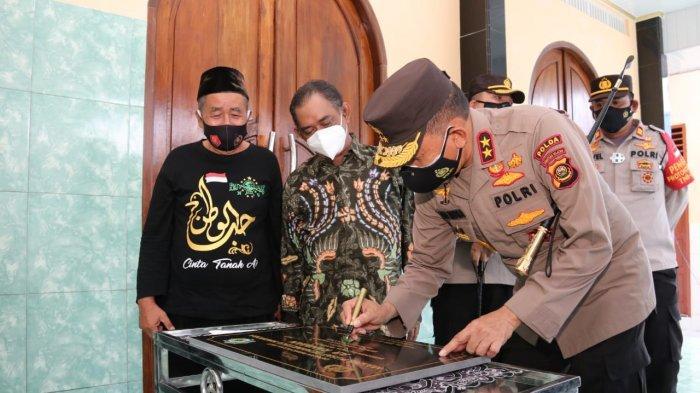 Kapolda Sumsel Resmikan Masjid Pusat Rehabillitasi Narkoba