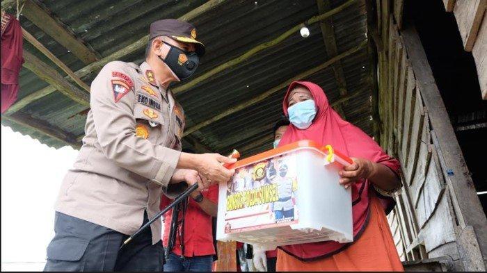 Jelang Akhir Masa Tugas, Kapolda Sumsel Sambangi Wilayah Pesisir OKI, Pantau Layanan Vaksinasi