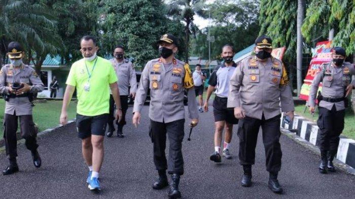 Jaga Stabilitas Jelang Pilkada Serentak, Kapolda Sumsel Berkoordinasi dengan Danpomdam II Sriwijaya