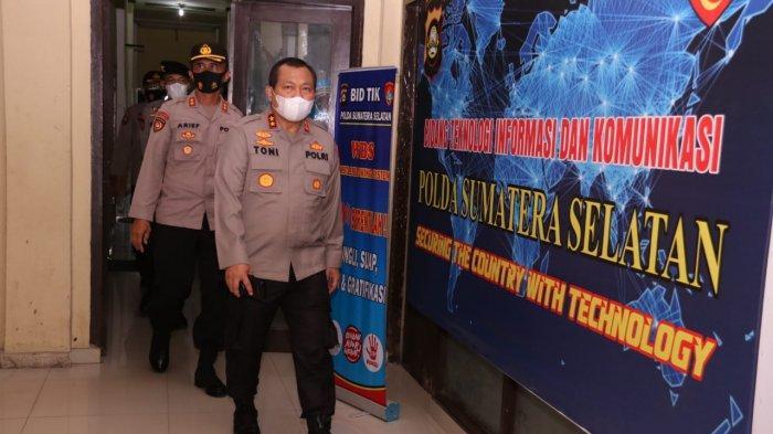 Kapolda Irjen Pol Drs Toni Harmanto Cek Satuan Kerja Polda Sumsel