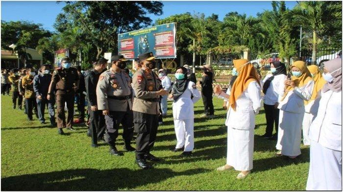 Kunjungan Kerja ke Pagaralam, Kapolda Sumsel Ingatkan Personel Waspada, Deteksi Dini Kamtibmas