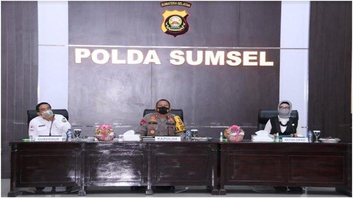 Kapolda Sumsel Buka Rakor Perawatan Tahanan di Rutan Polda dan Jajarannya