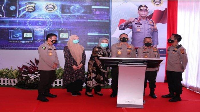 Kapolda Sumsel Irjen Pol Prof Dr Eko Indra Heri S Launching Alat Kesehatan