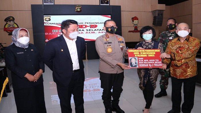 9 Fakta Akidi Tio Sumbang Rp2 Triliun untuk Sumsel, Ada Kisah Kapolda Sumsel dan Johan Penjual Es