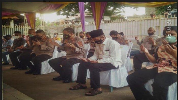 4 Ramadan 1442 Hijriah, Kapolda Sumsel Resmikan Musholla Nurul Jannah Aspol Madang Palembang