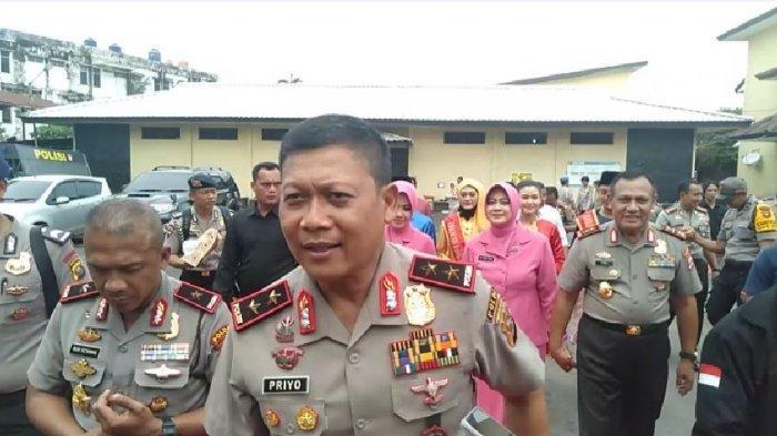 Kapolda Irjen Pol Priyo Widyanto Komitmen Berantas Kejahatan Jalanan di Sumsel