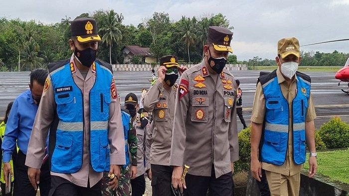 Kapolda Sumsel Cek Langsung Pelaksanaan PPKM Mikro di Kota Lubuklinggau