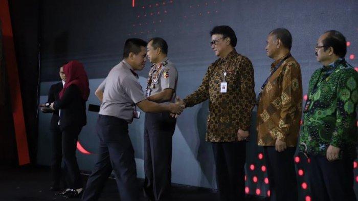 Polres Muara Enim Raih Predikat Wilayah Bebas Korupsi (WBK) Tahun 2019 dari Menteri PAN-RB