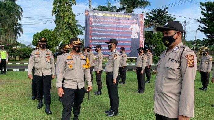Kapolres Ogan Ilir Lepas Tenaga Vaksinator dan Tracer Covid-19